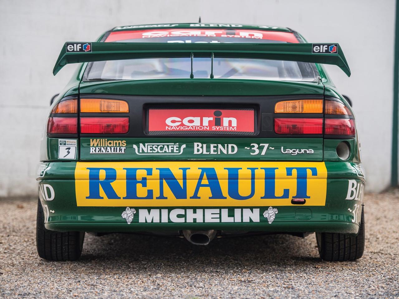 Renault Laguna BTCC... Quand Williams s'en mêle ! 22