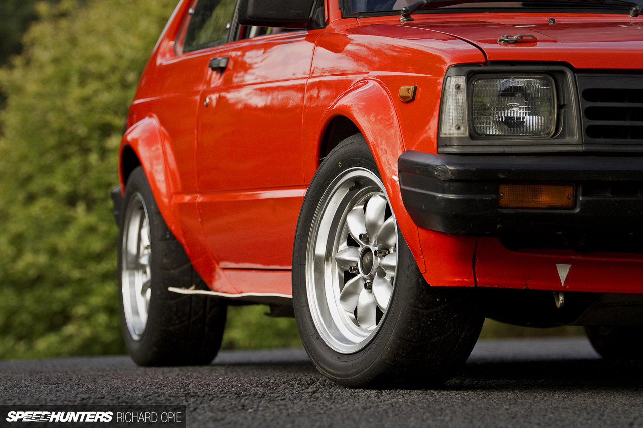 Hillclimb Monsters : Toyota Starlet KP61 Hayabusa - The Monster 8