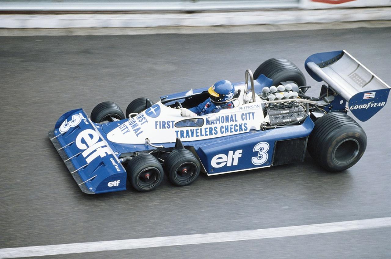 Tyrrell P34, une F1 pas comme les autres ! 2