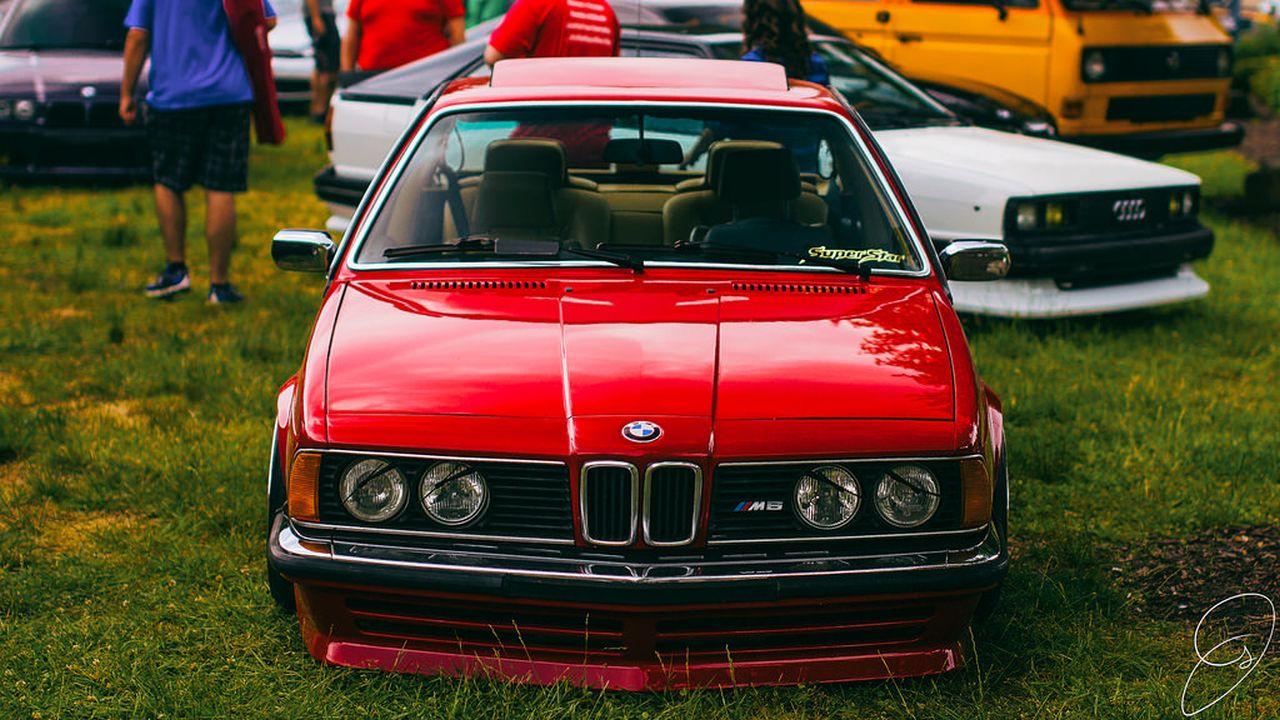 BMW M635 E24... Rouge tendance ! 20