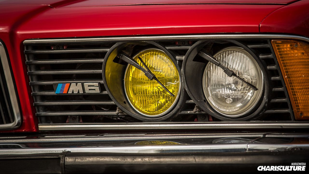 BMW M635 E24... Rouge tendance ! 26