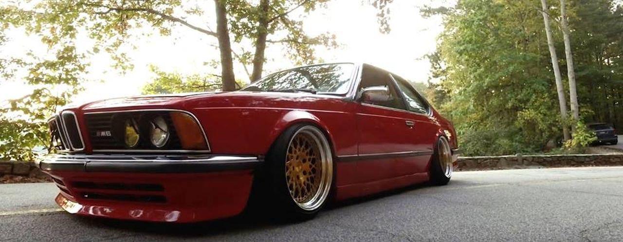 BMW M635 E24... Rouge tendance ! 25