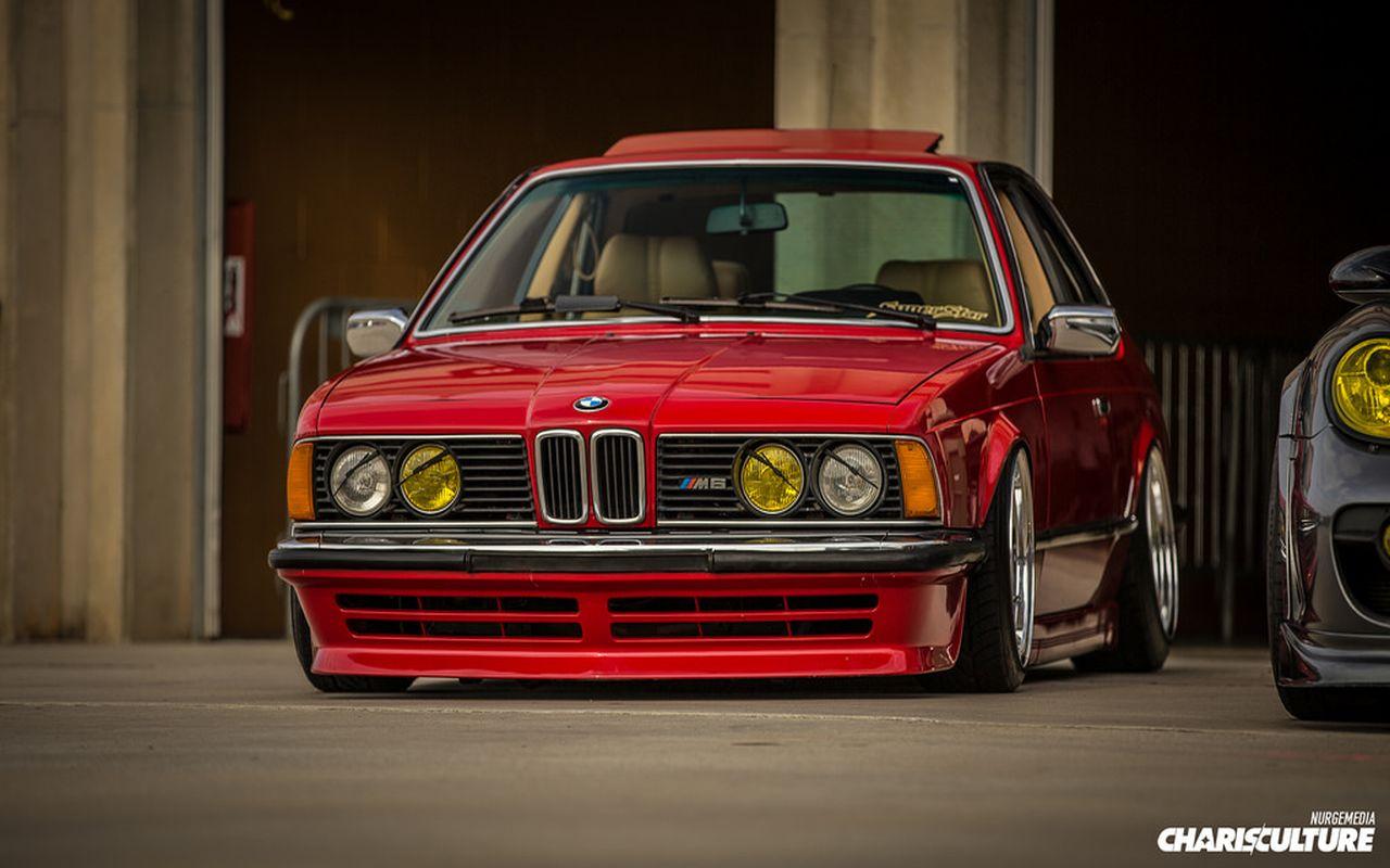 BMW M635 E24... Rouge tendance ! 24