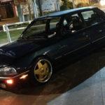 Slammed Peugeot 505 - En direct de Buenos Aires