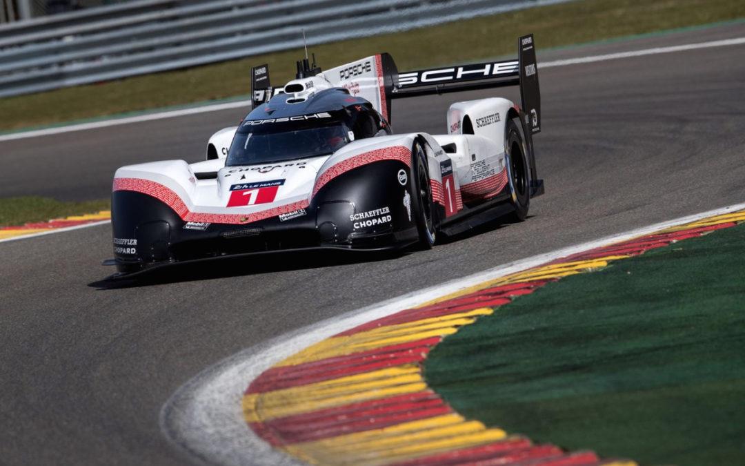 La Porsche 919 énervée claque du boule à Spa et met sa race à une F1 ! Impressionnant…