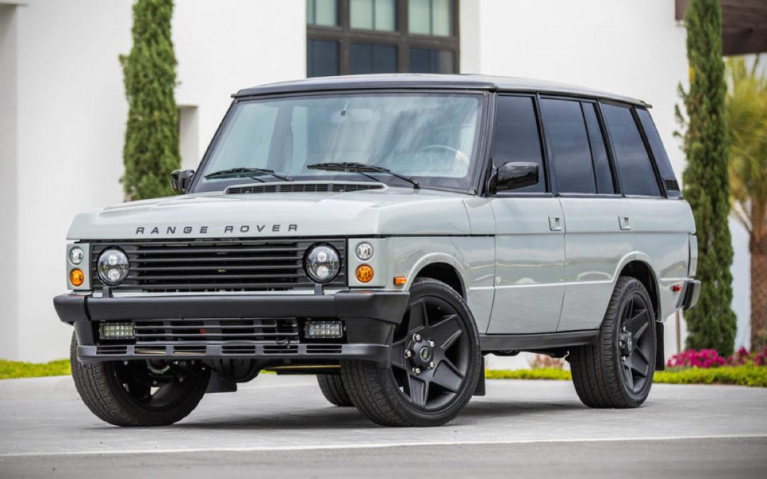 """Range Rover Classic restomod en LS3 : """"Project Alpha"""""""