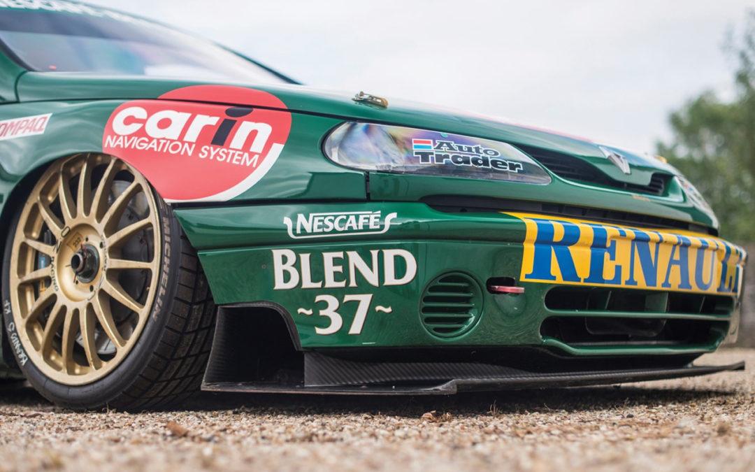 Renault Laguna BTCC… Quand Williams s'en mêle !