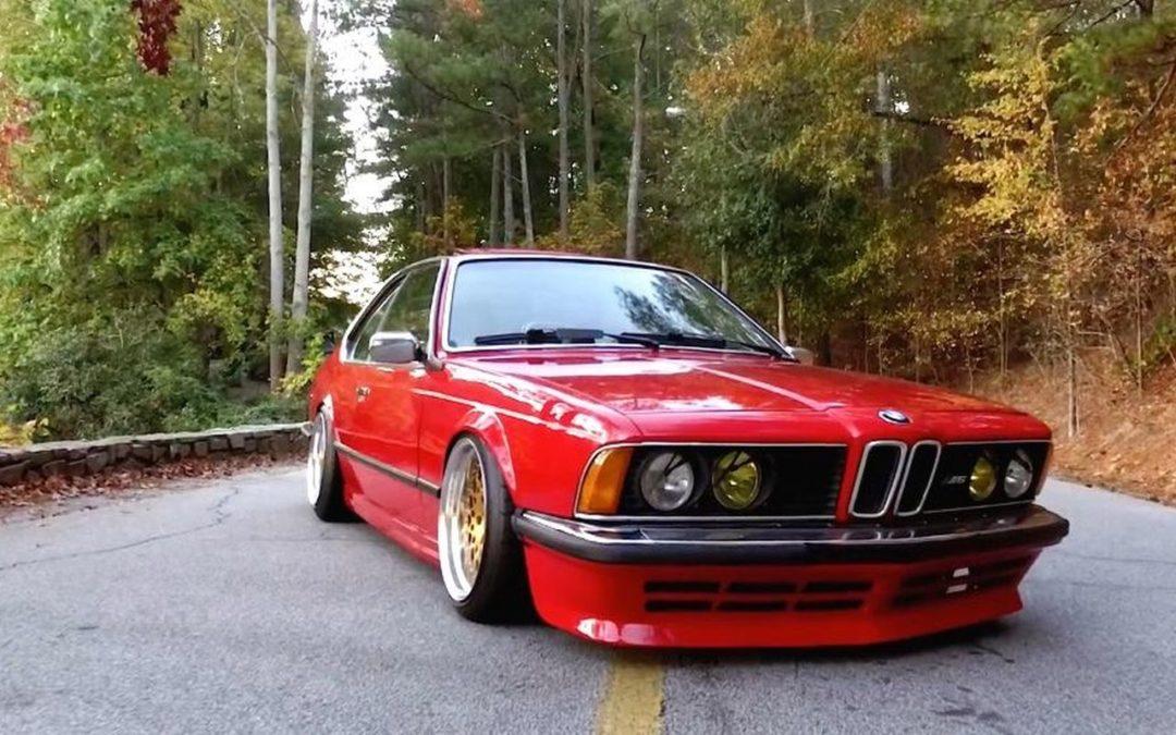 BMW M635 E24… Rouge tendance !