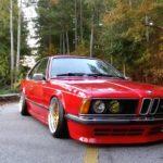 BMW M635 E24... Rouge tendance !