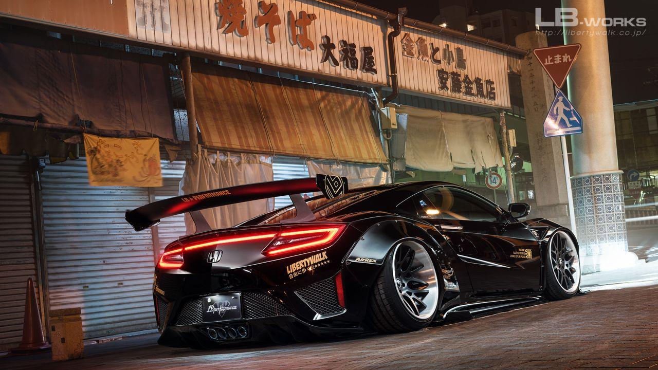Acura NSX by Liberty Walk - Sauce soja ! 29