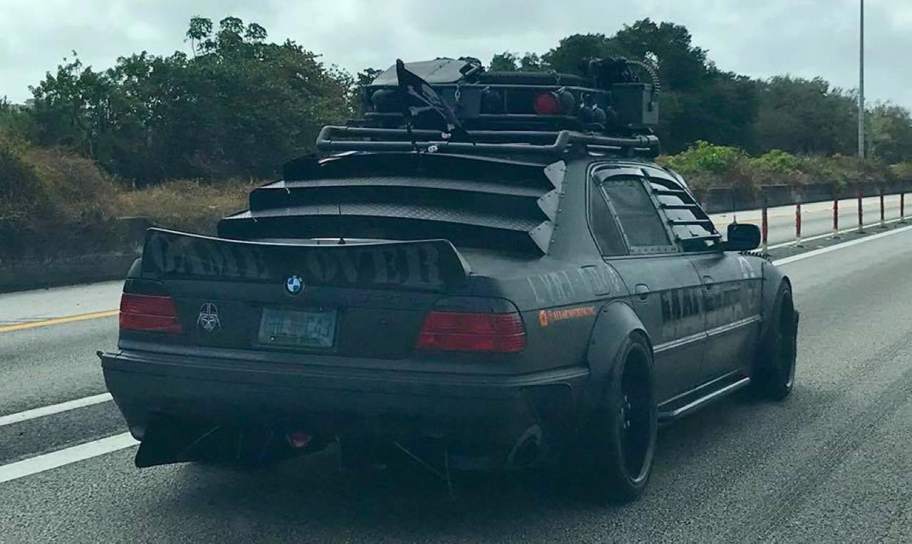 BMW 740i : Zombie Apocalypse ou Mad Max ?! 22