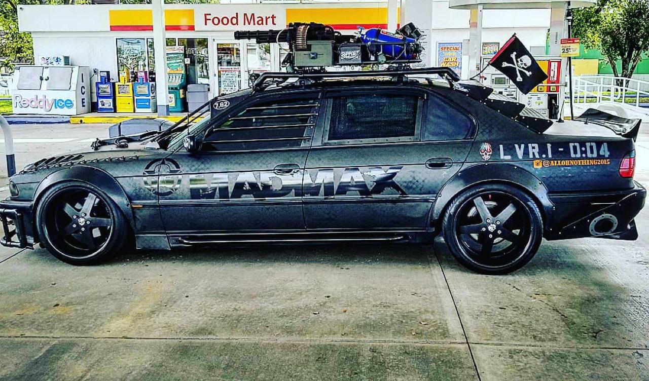 BMW 740i : Zombie Apocalypse ou Mad Max ?! 26