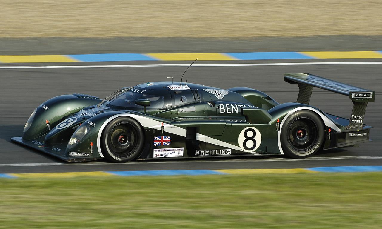 Engine Sound : Bentley Speed 8 - 3 années pour 1 victoire ! 45