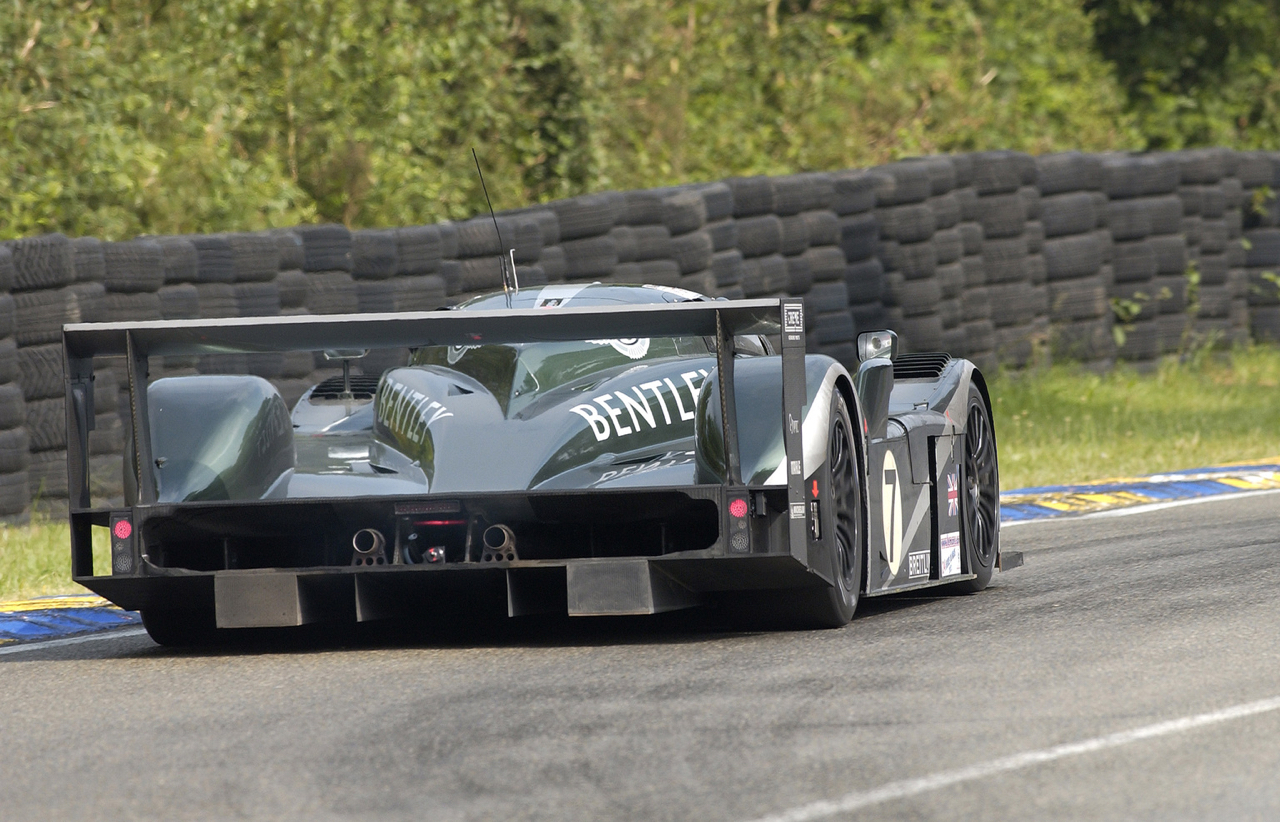 Engine Sound : Bentley Speed 8 - 3 années pour 1 victoire ! 7
