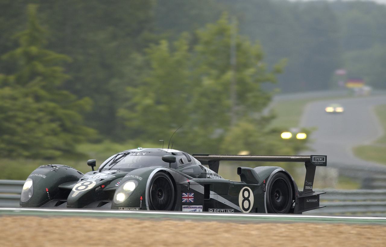 Engine Sound : Bentley Speed 8 - 3 années pour 1 victoire ! 9