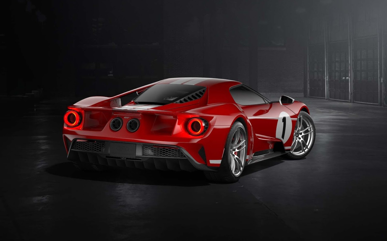 Engine Sound : Ford GT Heritage Edition... en Akrapovic ! 29