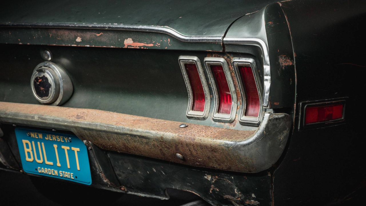 Ford Mustang... Celle de Bullitt ! 61