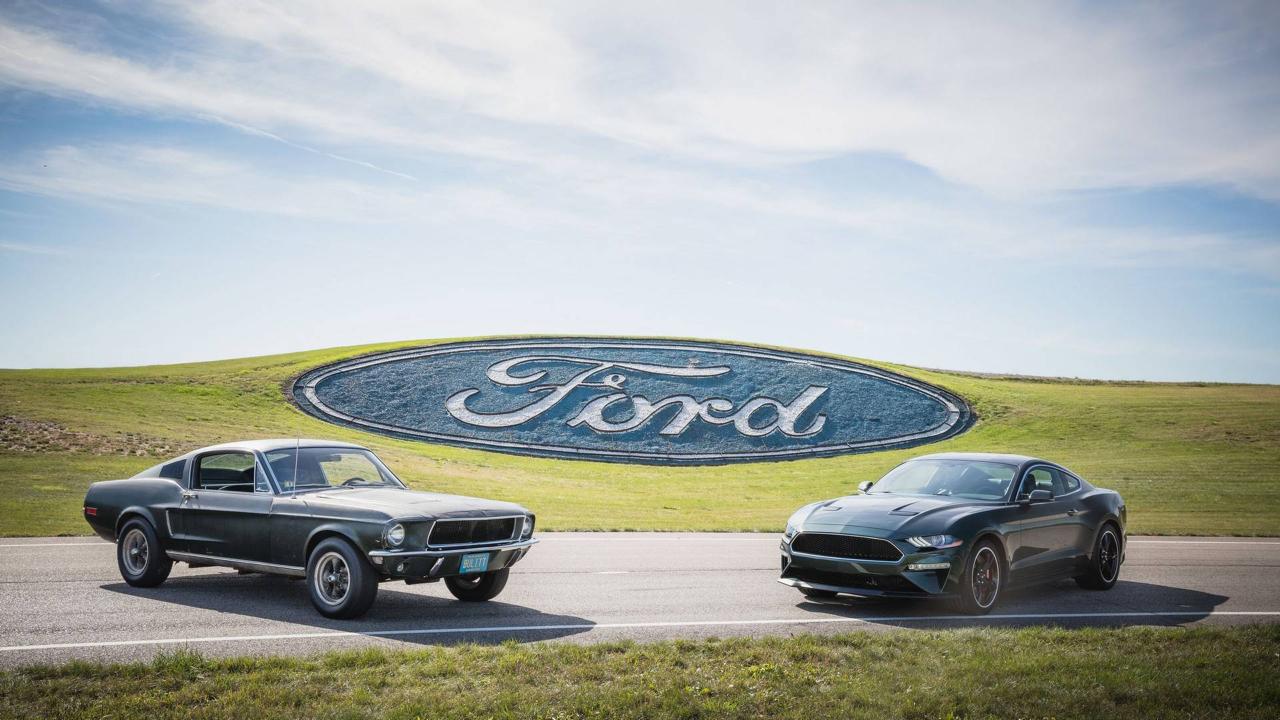 Ford Mustang... Celle de Bullitt ! 70