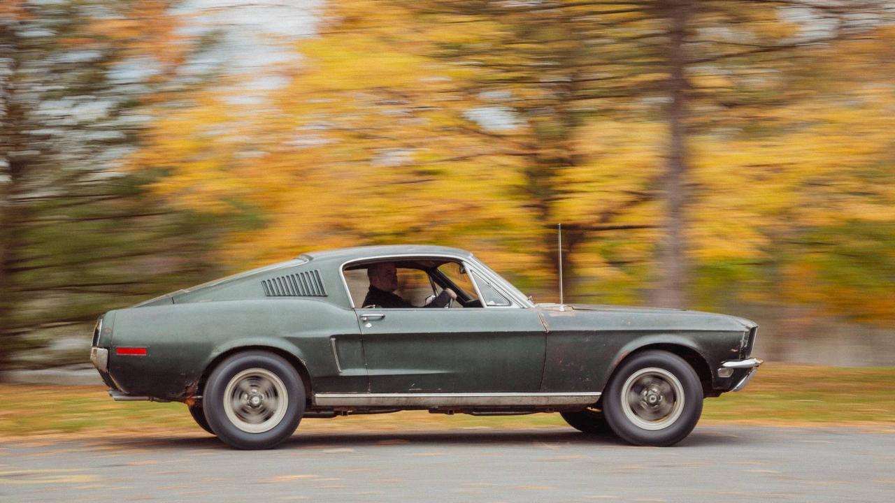 Ford Mustang... Celle de Bullitt ! 59