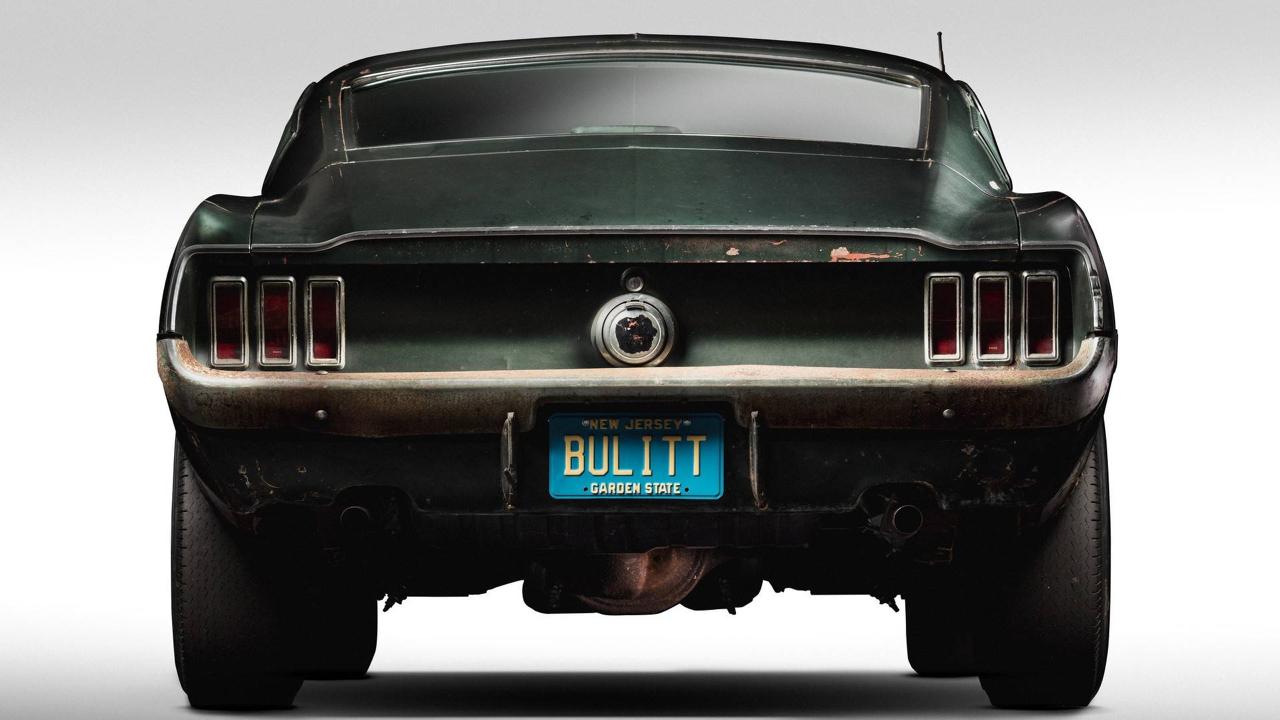 Ford Mustang... Celle de Bullitt ! 55