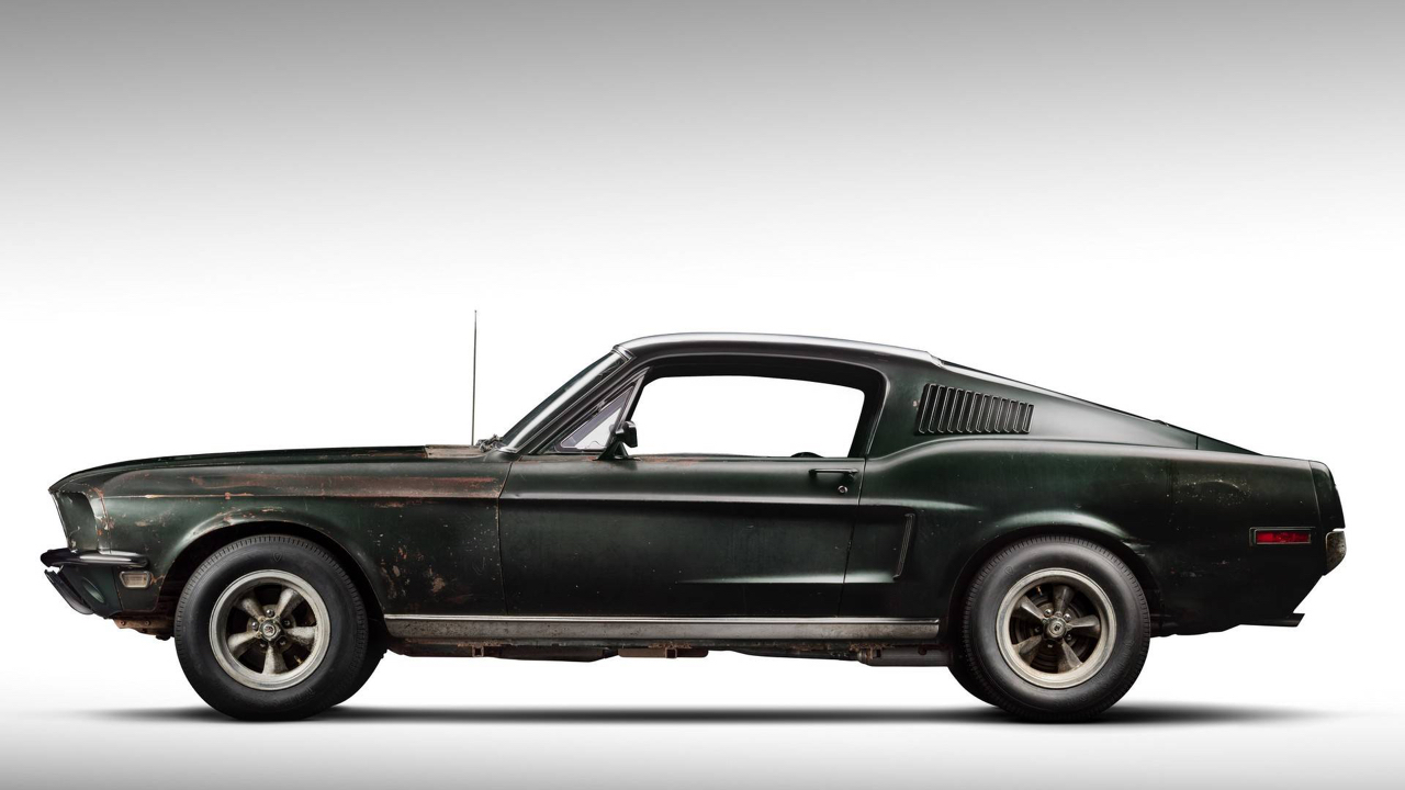 Ford Mustang... Celle de Bullitt ! 56