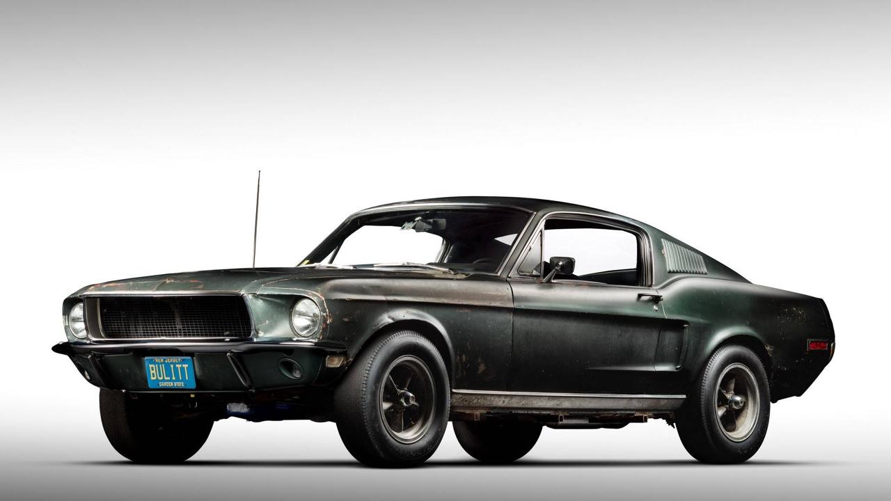 Ford Mustang... Celle de Bullitt ! 54