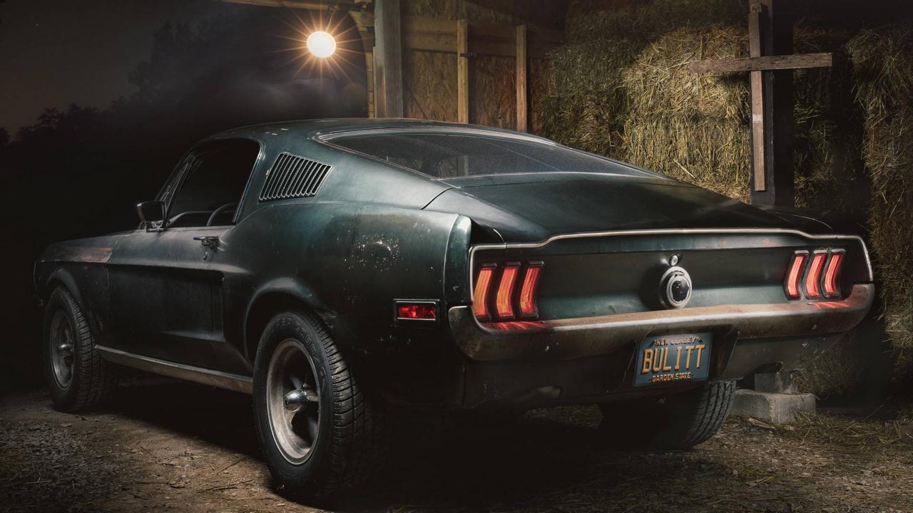 Ford Mustang... Celle de Bullitt ! 51