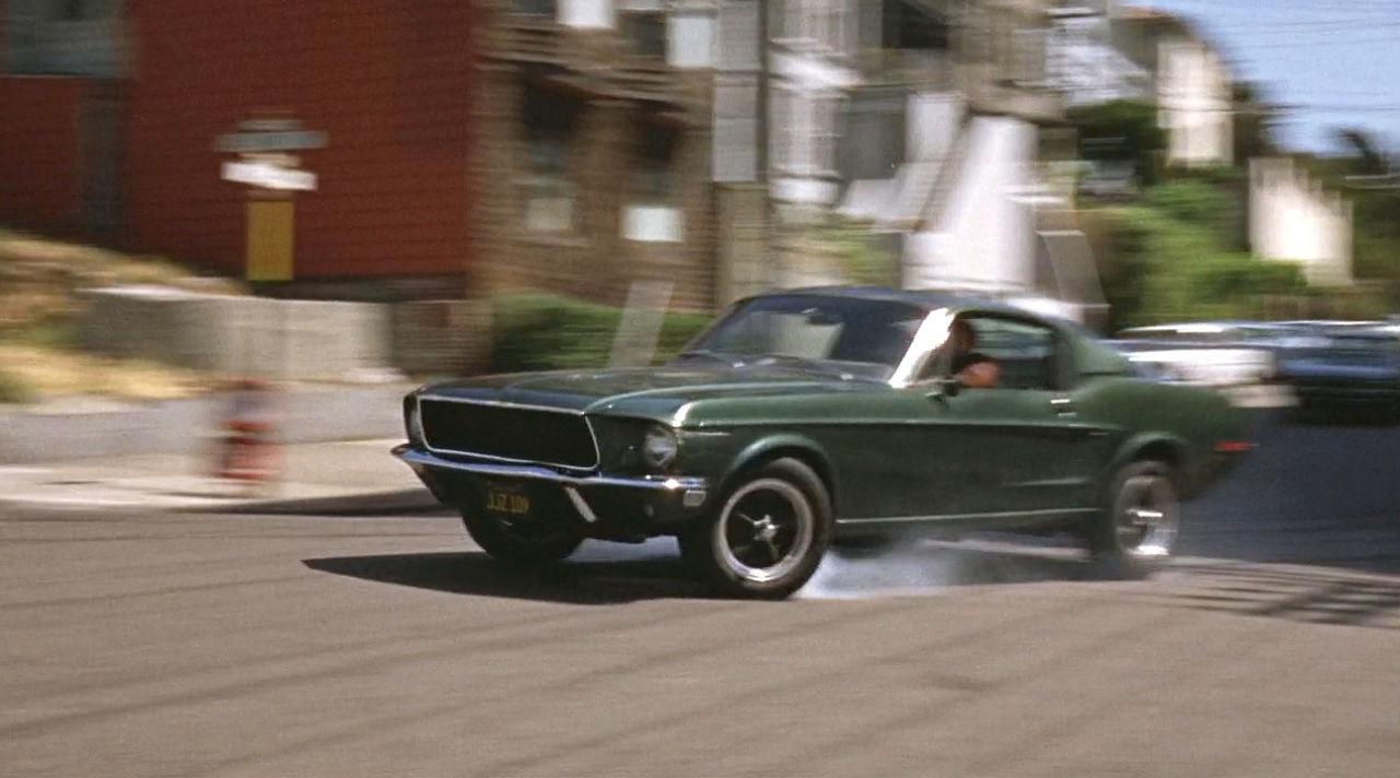 Ford Mustang... Celle de Bullitt ! 72