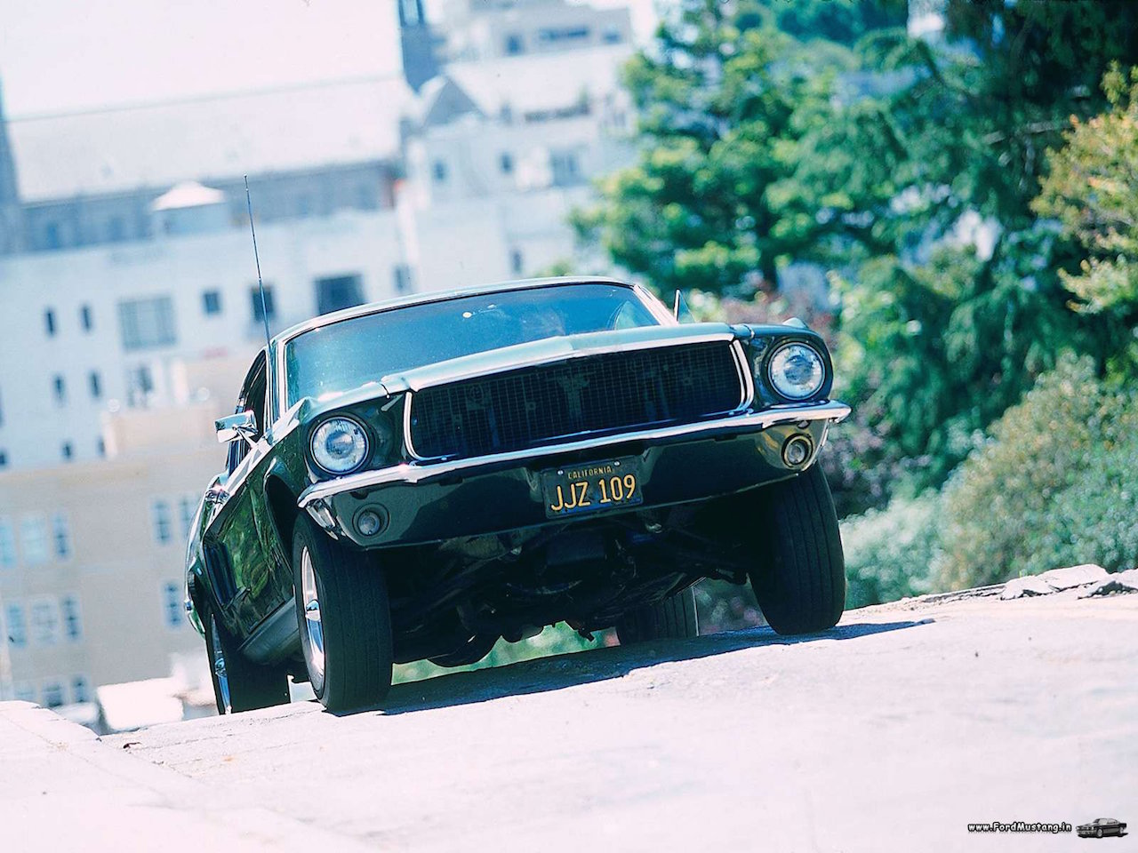 Ford Mustang... Celle de Bullitt ! 46