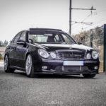 Mercedes E55 AMG Medacar - Décollage dans 5... 4... 3... 2... 24