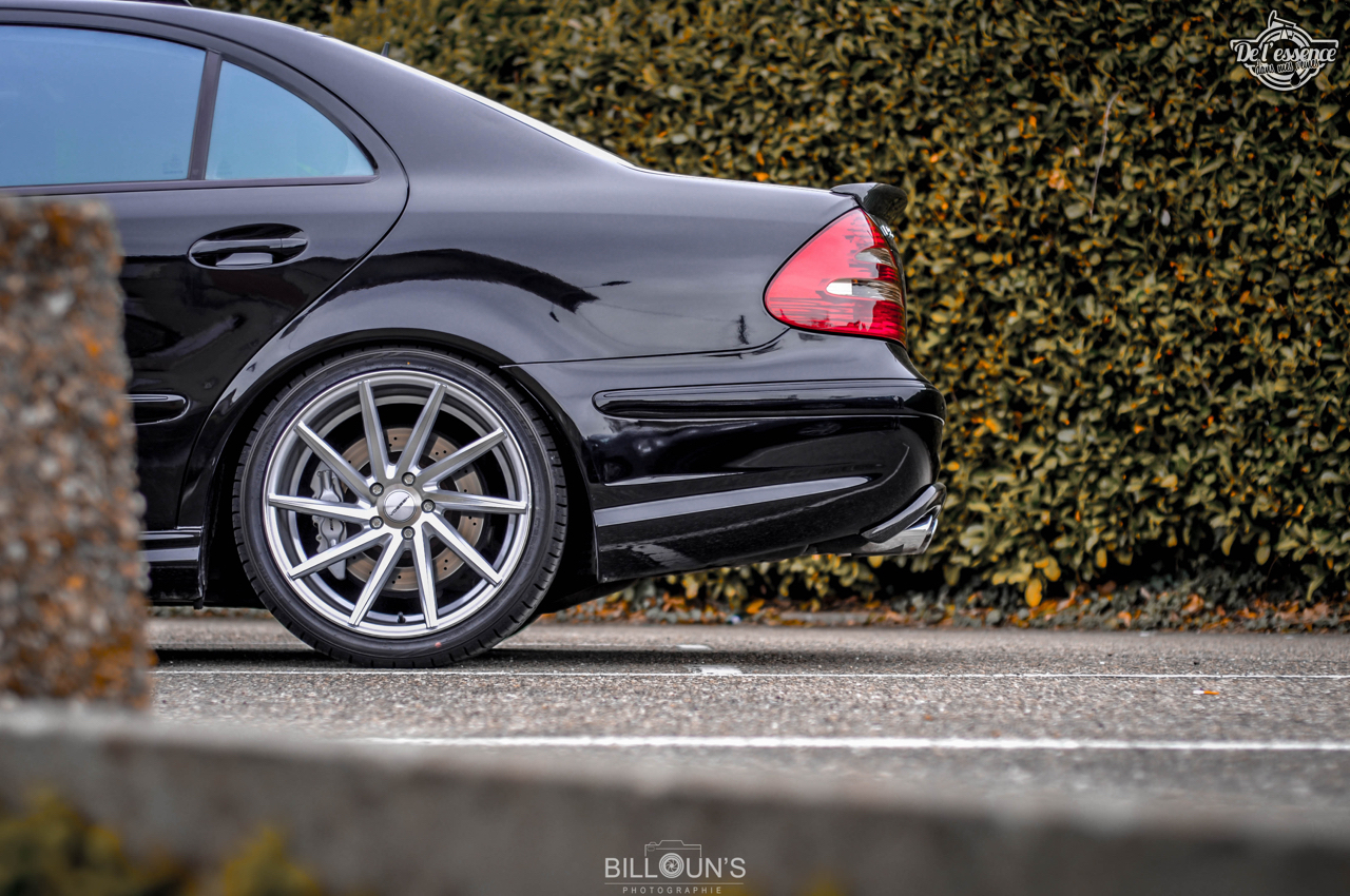 Mercedes E55 AMG Medacar - Décollage dans 5... 4... 3... 2... 12