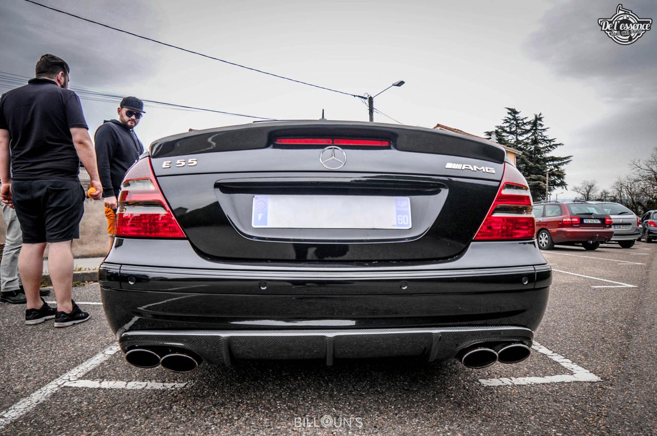 Mercedes E55 AMG Medacar - Décollage dans 5... 4... 3... 2... 4