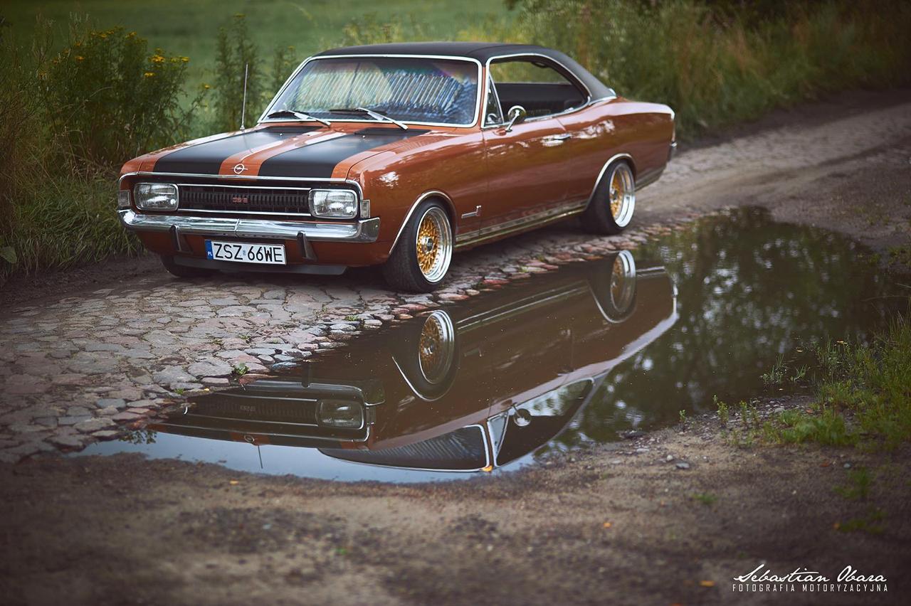 '70 Opel Commodore GS/E coupé... Amélioré ! 1