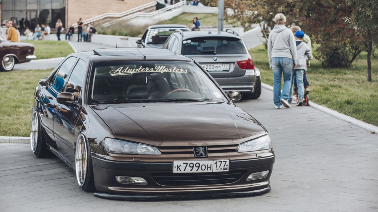 Bagged Peugeot 406... Voiture familiale ? 25