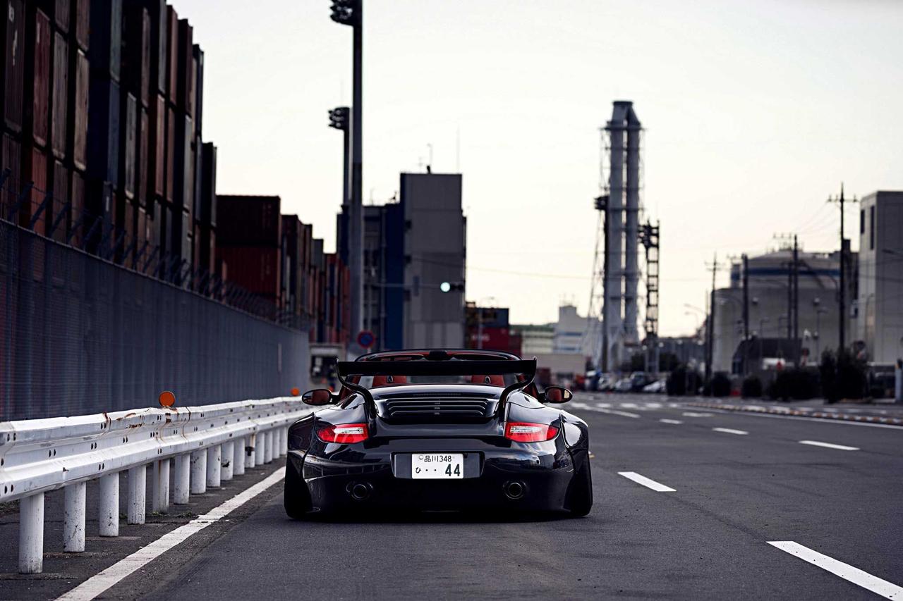 Porsche 997 Old & New : Elle enlève le haut ! 44