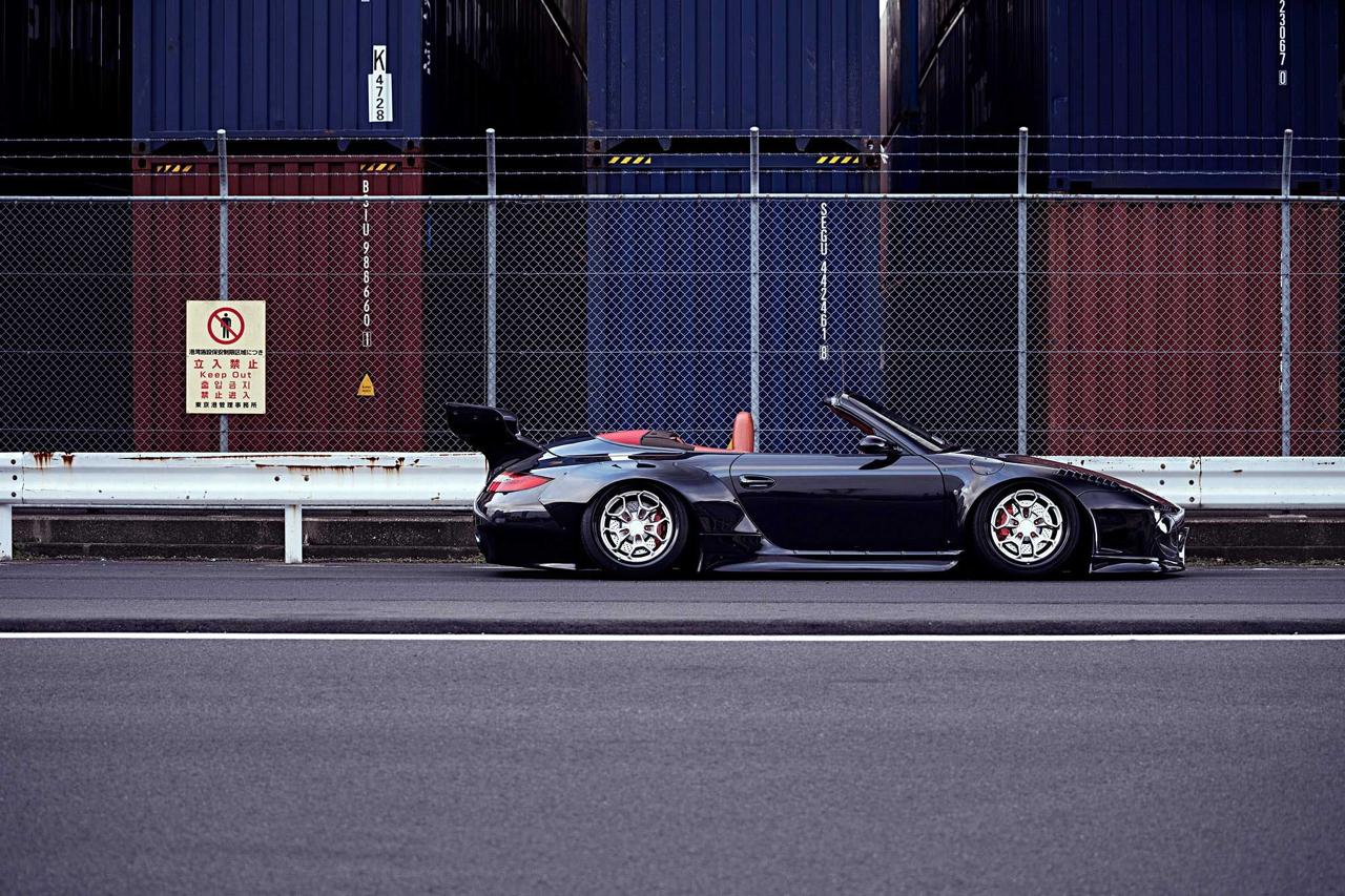 Porsche 997 Old & New : Elle enlève le haut ! 31