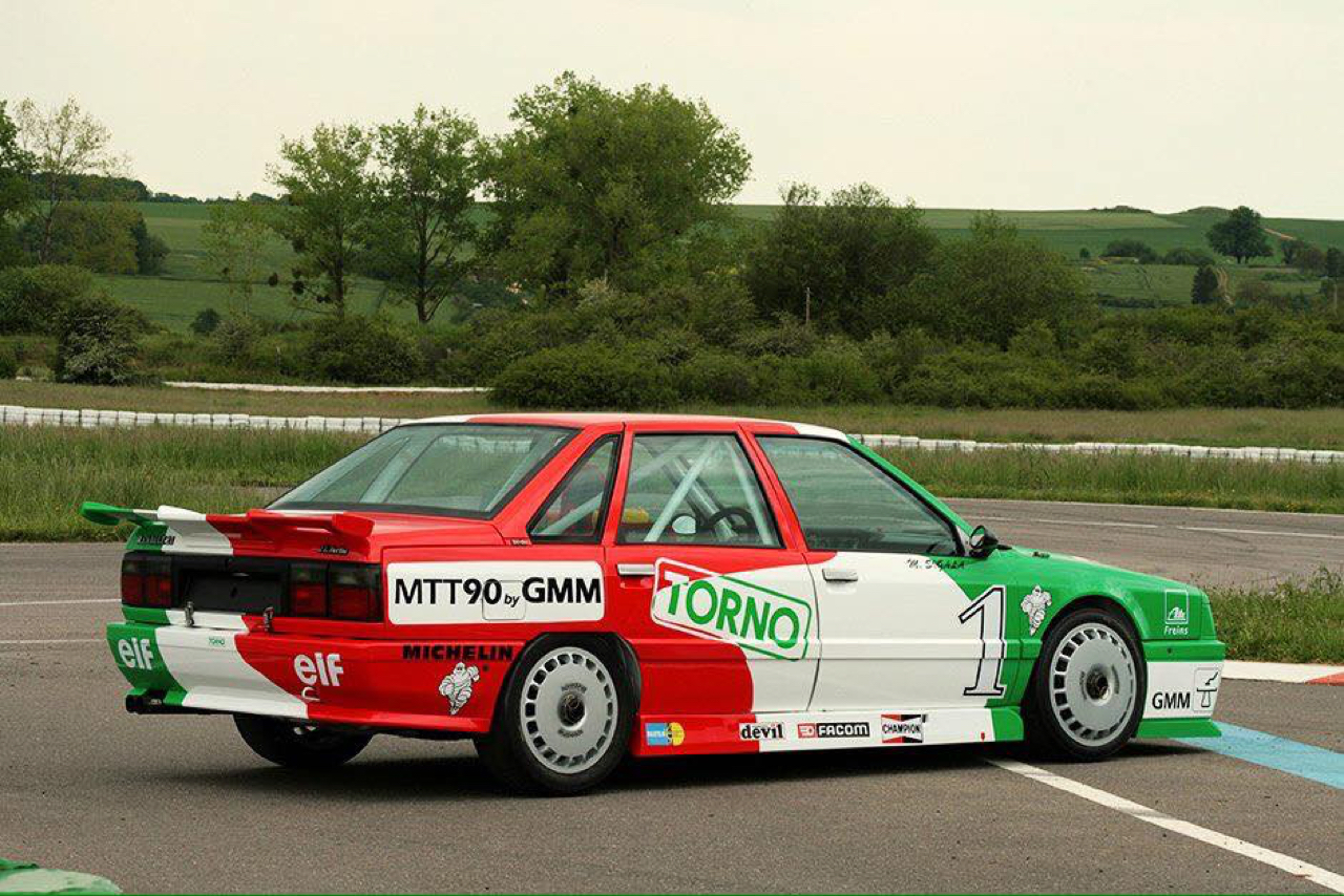 R21 Turbo Europa Cup... Pas si ringarde que ça ! 5