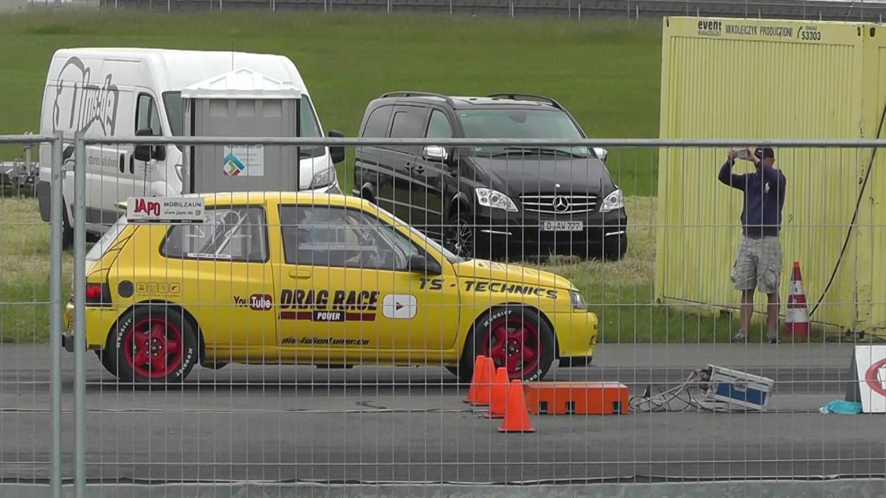 Renault Clio VR6 Turbo 4x4... Quand la française avale une allemande ! 17