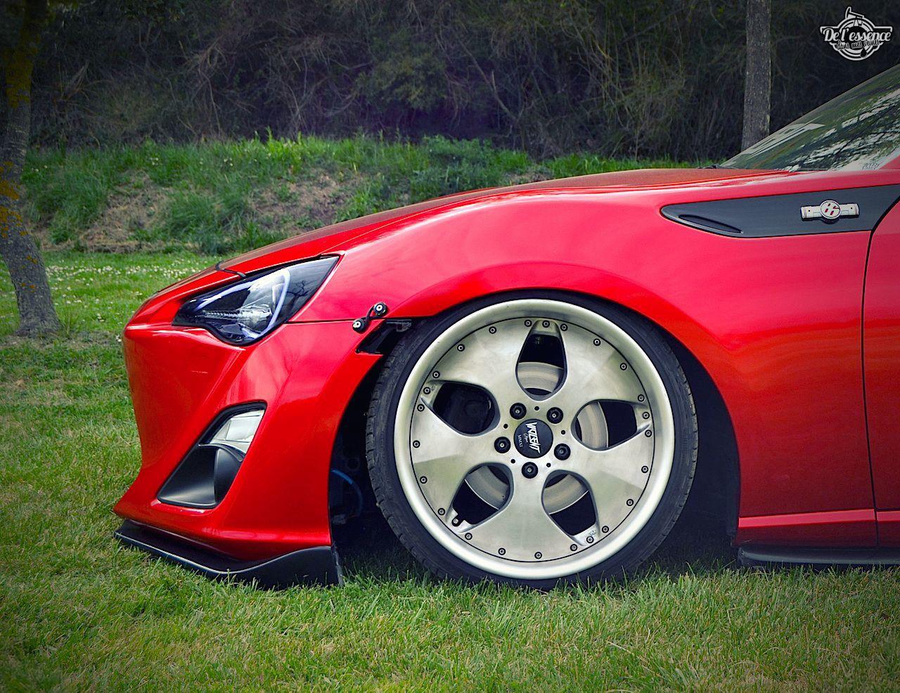 Spring Event #5 - La Toyota GT86 de Jimmy - Rouge, et en rase-motte 4
