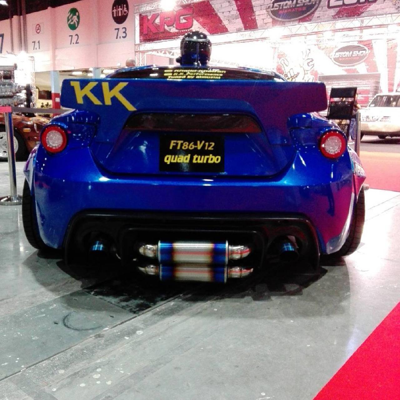Toyota GT86... V12 Quad Turbo ! Qui a dit sous motorisé ?! 16