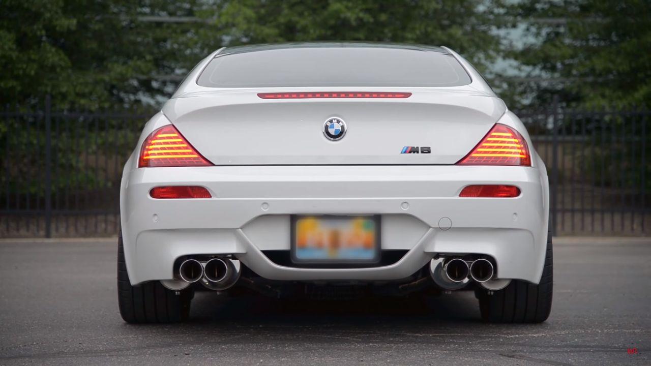 Engine sound : BMW M6 E63 - Voix de cristal 16