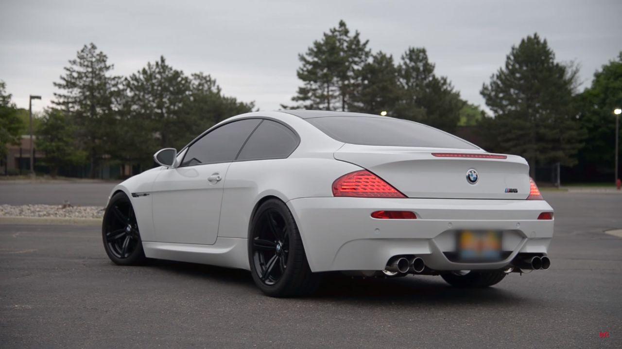 Engine sound : BMW M6 E63 - Voix de cristal 17