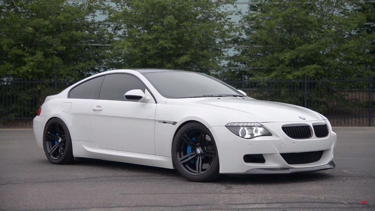 Engine sound : BMW M6 E63 - Voix de cristal 15