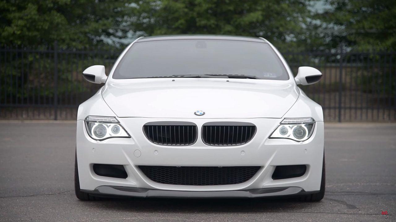 Engine sound : BMW M6 E63 - Voix de cristal 18