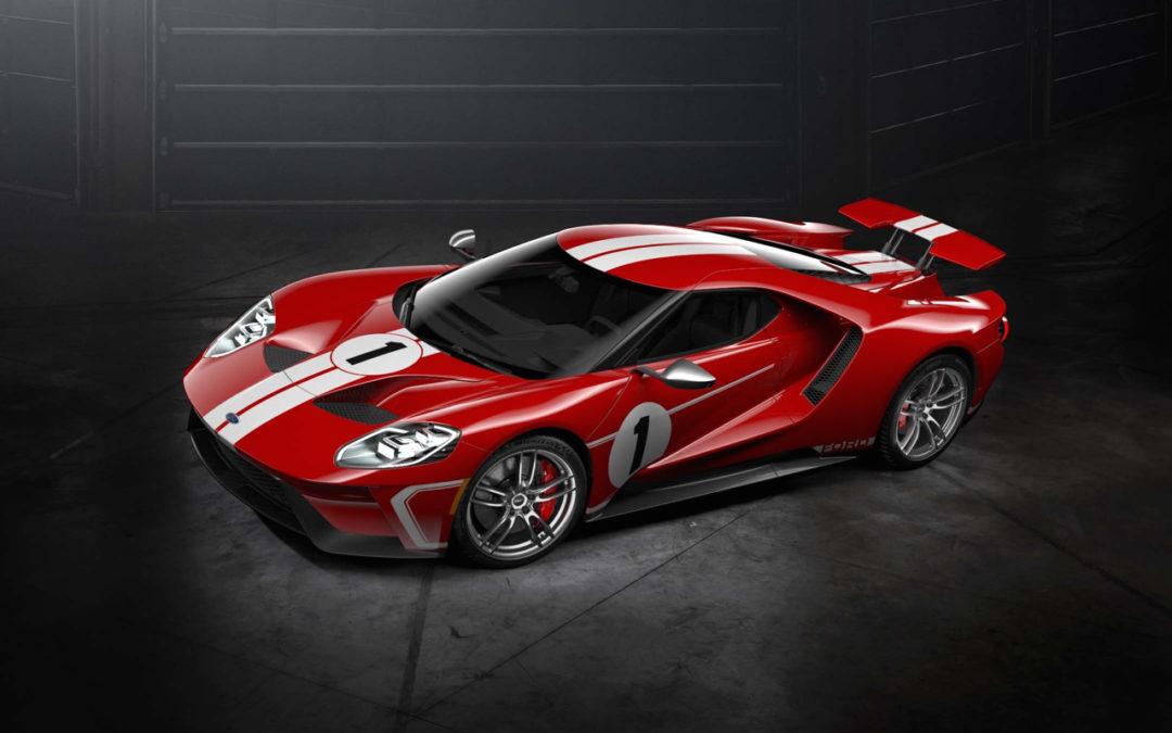 Engine Sound : Ford GT Heritage Edition… en Akrapovic !