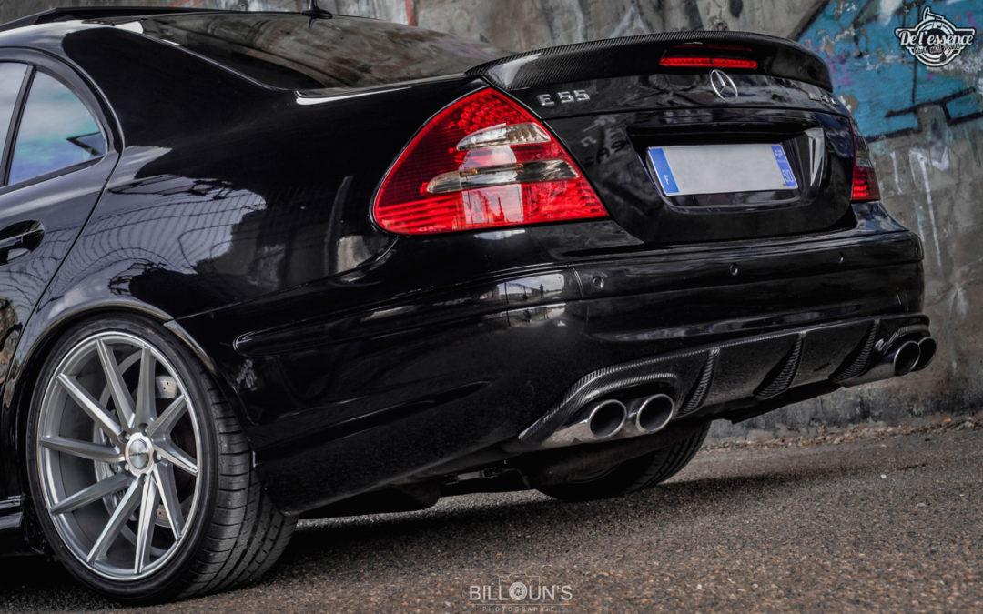 Mercedes E55 AMG Medacar – Décollage dans 5… 4… 3… 2…