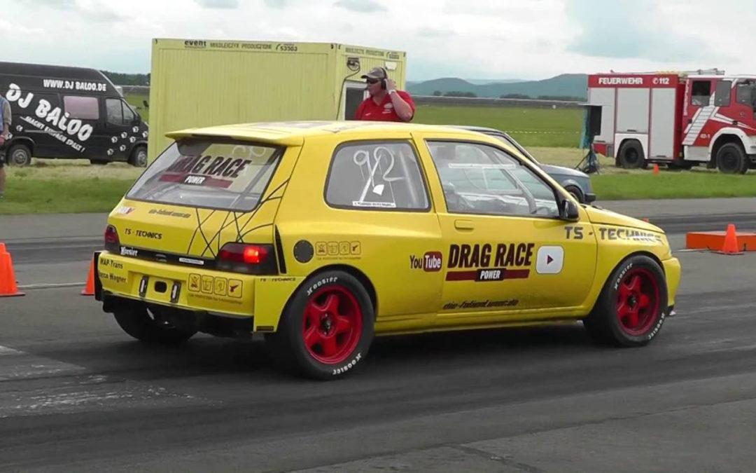 Renault Clio VR6 Turbo 4×4… Quand la française avale une allemande !