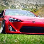 Spring Event #5 - La Toyota GT86 de Jimmy - Rouge, et en rase-motte