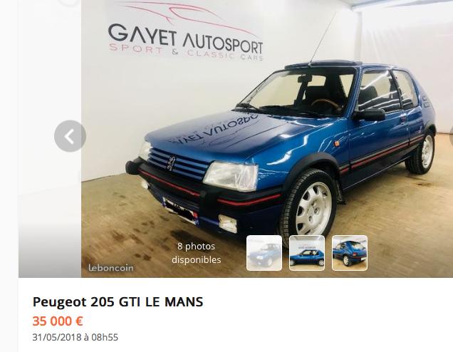 205 GTi Le Mans