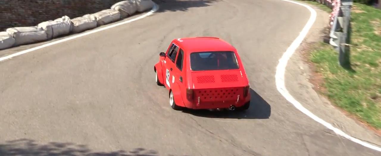 Hillclimb Monster : Fiat 126 presque d'origine...! 8